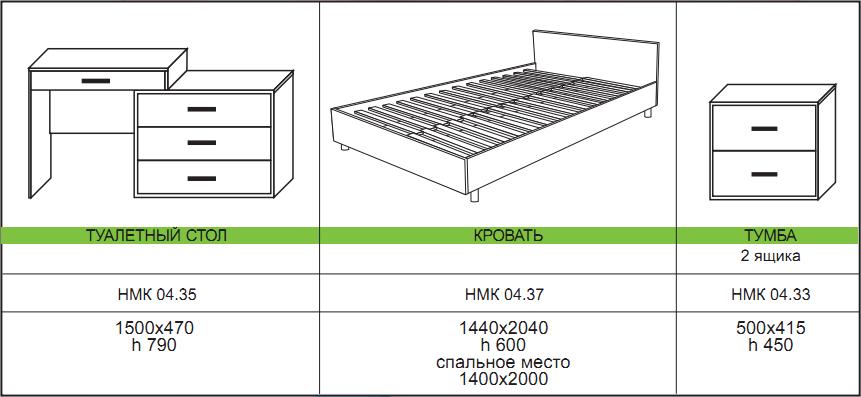 спальный гарнитур милан мебель для спальни милан в орле